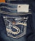 Authentic Silver Jeans Low Rise Boot Cut Women's Blue Sz 25 26 27 28 28 29 30 31