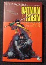 2010 BATMAN vs ROBIN Deluxe Edition DC HC/DJ NM/VF+