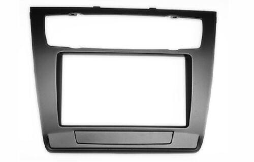 CARAV 11-481 autoradio façade radio pour BMW 1er e81 e82 e87 e88 2-din Double Din