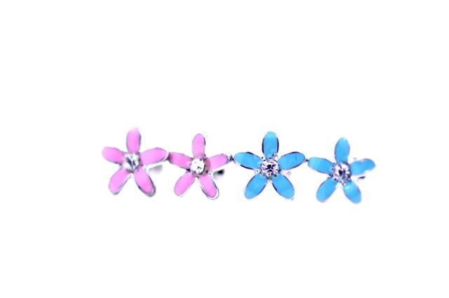 Lovely daisy flower earrings 50s 60s retro multiple colours