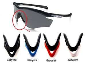 b5171c853814 Galaxy Nose Pads Rubber Kits For Oakley M2 Frame Sunglasses Black ...