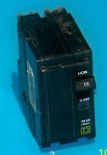 New Listingqo215 Square D 15 Amp 240 Volt 2 Pole Plug On Breaker