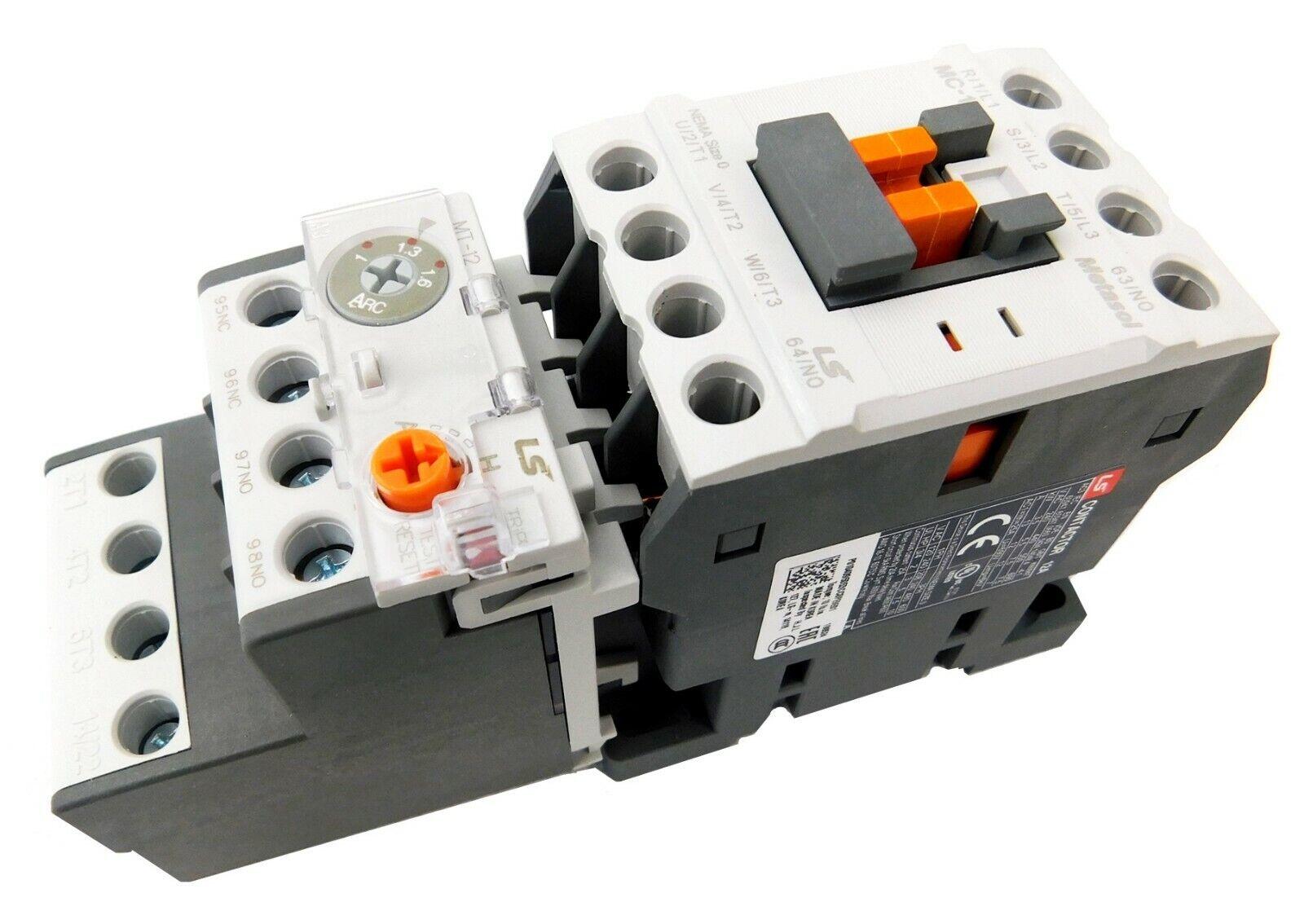 Elimia DOL Start//Stop//LED Motor Starter 120V Coil  12-18 Amp 5 HP Waterproof !