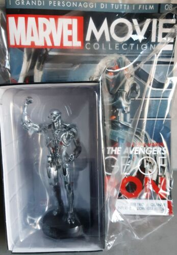 MARVEL MOVIE COLLECTION #08 ULTRON FIGURINE EAGLEMOSS Avengers Age of Ultron