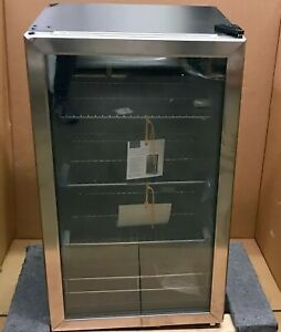 Insignia 115 Can Beverage Cooler Refrigerator Stainless