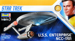 REVELL-Star-Trek-NCC-1701-U-S-S-Enterprise-1-600-Plastic-model