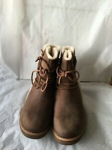 c4e1d50428a Details about UGG Luisa Women's Boots Chocolate size 7