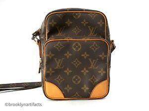 Vintage-Louis-Vuitton-Monogram-Amazone-Leather-Crossbody-Shoulder-Bag-Purse