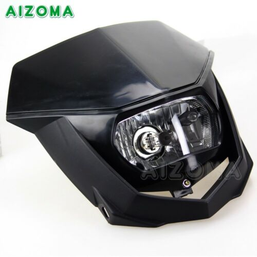 Universal Street Fighter Motorcross Motorcycle Headlight Lamp Fairing DirtBike