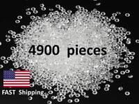 4900 Faux Diamonds - For Decoration Wedding Table Or Cake Simulated Ice Idea