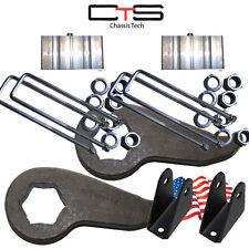 "Lift Kit Chevy Front Torsion Keys 3"" 2""Rear Block=C Shok Ext 00-10 8Lug Truck"
