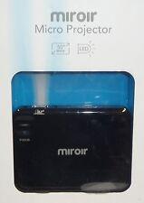 Miroir Micro 360p DLP Pico Projector MP30 Black Brand New Sealed