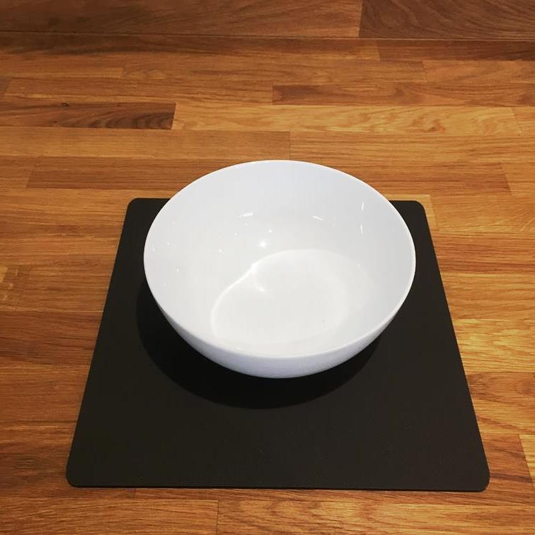 Square Shaped Mocha braun Mat Acrylic Placemats, Sets 4 6 8, Größe 9  or 12