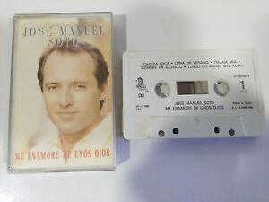JOSE-MANUEL-SOTO-ME-ENAMORE-DE-UNOS-OJOS-CINTA-TAPE-CASSETTE-1990-EPIC-SPAIN-ED