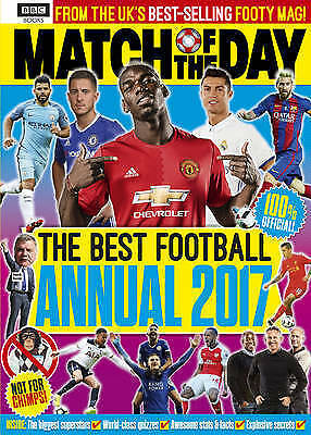 """""""NEW"""" Match of the Day Annual 2017 (Annuals 2017), Various, Book"""