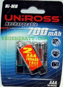 6-Piles-rechargeables-UNIROSS-AAA-700mAh-NiMH-Telephone-sans-fil