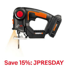 WORX WX550L Axis 20V PowerShare Cordless Reciprocating & Jig Saw