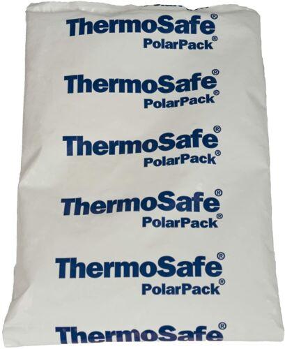 """THERMOSAFE POLAR Pack de mousse Brique Congélateur Froid Ice Packs Lot de 5 8/""""x5.5/""""x0.5/"""""""