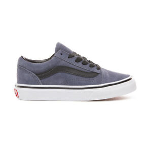 6cebfef3e78 Image is loading Vans-Old-Skool-VN0A38HBUJL-Suede-Grisaille-Preschool-Kid-