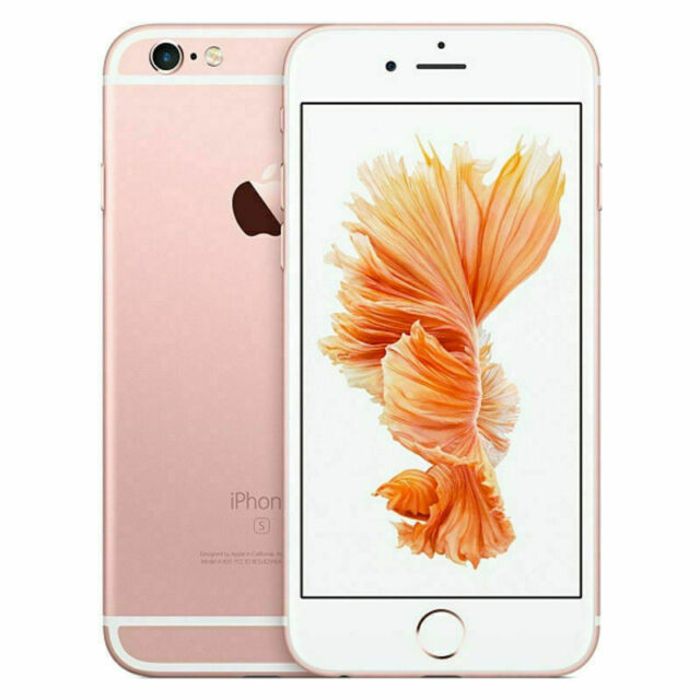 Apple iPhone 6s 16GB Verizon + GSM Unlocked Smartphone AT&T T-Mobile Rose Gold