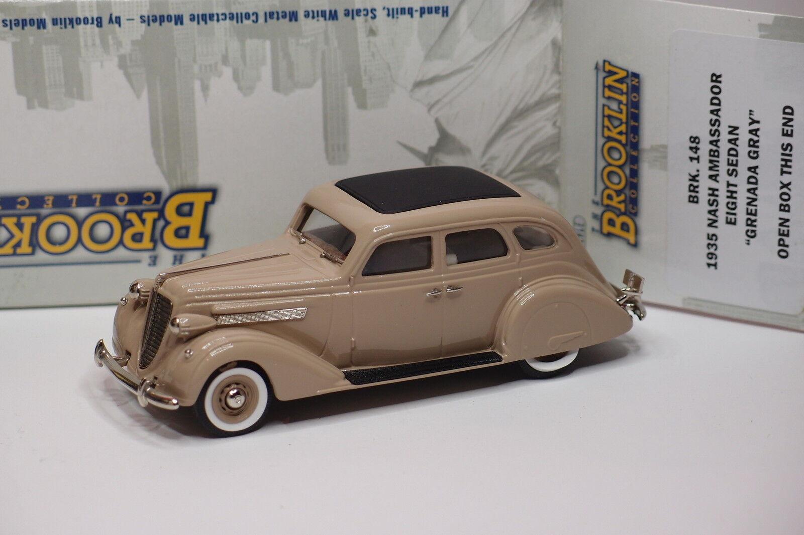 Brooklin brk - 148 1935 nash ambassador acht limousine grenada grau 1   43
