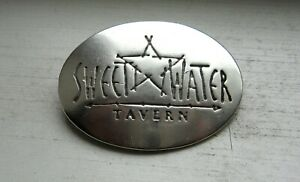 Details about Sterling Silver VA / MD Sweetwater Tavern Restaurant Star  Motif Badge