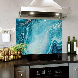 Kitchen Glass Splashback Heat Resistant Toughened Glass 60x52cm SEA