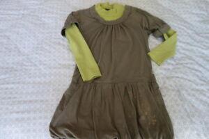 JEANBOURGET-robe-faux-2-pieces-8-ans