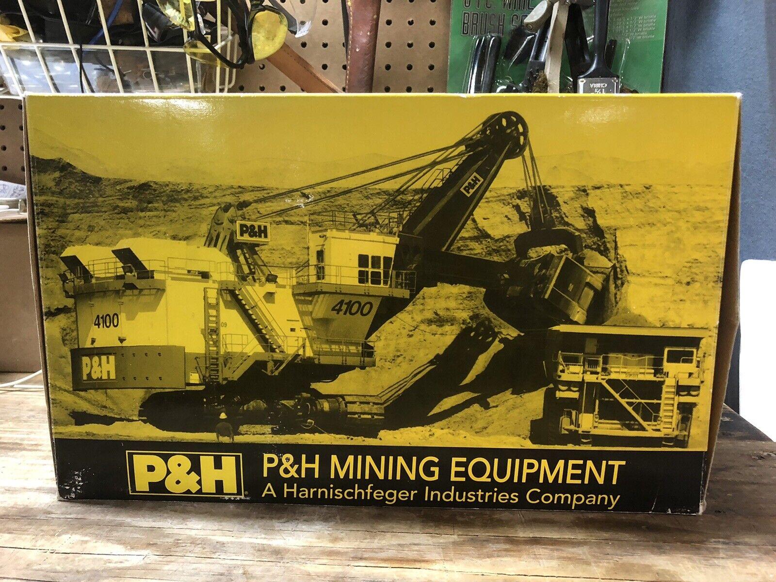 P&H Model 4100 Electric Mining Mining Shovel