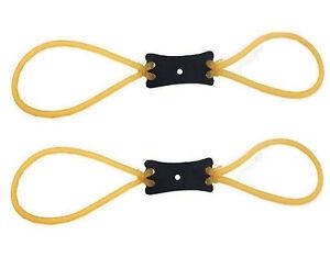 1 x sostituzione Catapulta Band doppia ad anelli di ricambio Fionda elastico in GOMMA UK
