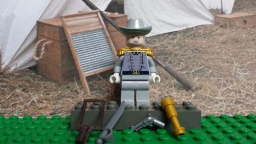 LEGO Civil War General Robert E Lee faded gray B 100/% Genuine LEGO READ PLZ
