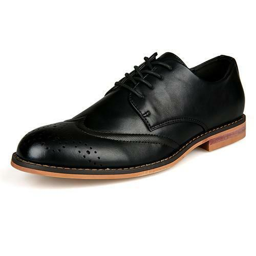 Leather Men's Business Formal Oxford shoes