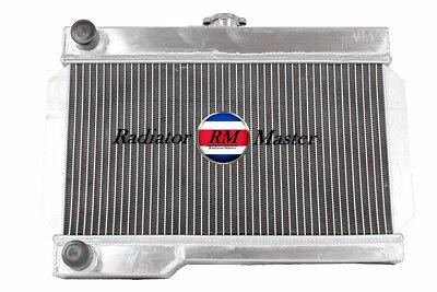 3Row Aluminum Radiator For 1962-1974 MG MGB 1.8L l4 Manual