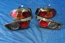2009-14 MITSUBISHI LANCER RALLIART OEM INNER/OUTER BRAKE TAILLIGHTS CY4A SST 421