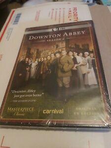 DOWNTON-ABBEY-Season-2-Original-UK-Edition-3-DVD-Set-NEW-and-Sealed