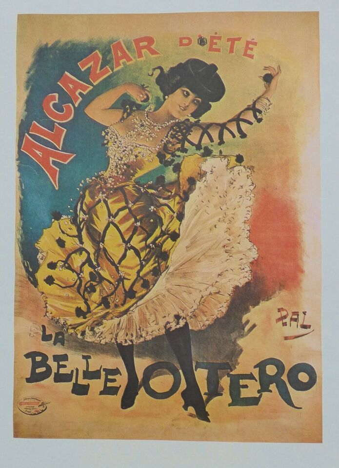 Plakat, danseplakat, PAL (Jean de Pateologue)