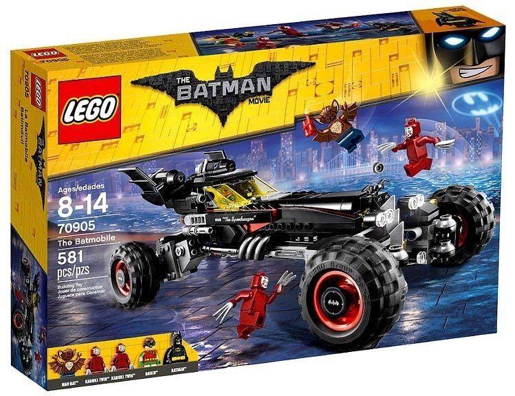 70905 LEGO DC The Batman Movie - The Batmobile