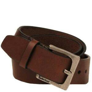 Timberland-35mm-Classic-Jeans-Genuine-Leather-Urban-Casual-Brown-Belt-B75397-01