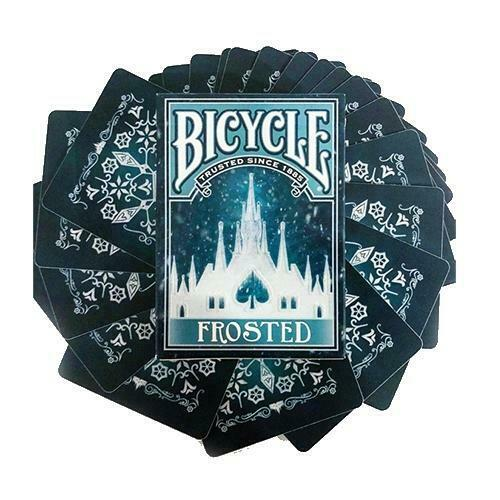 Frosted Bicycle Playing Cards Air Cushion Finish