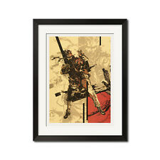 Metal Gear Solid Snake Eater Close Quarters Combat Poster Print