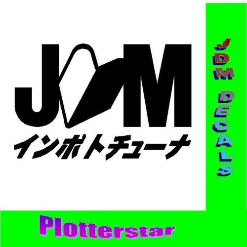 JDM Kanji nr2 Bitch Hater  Wakaba JDM Aufkleber Sticker OEM Shocker Like Geil