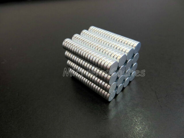 50 Strong Earth Magnets Geocaching Magnet Micro Caches Container Bison Tube