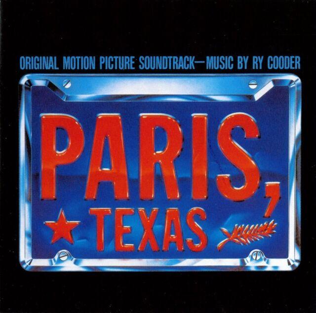 Paris, Texas Original Motion Picture Soundtrack CD NEW SEALED Ry Cooder