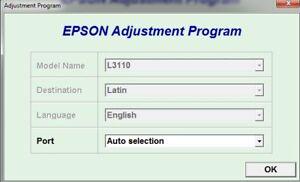 Details about Reset Epson L3110 + Generator Serial full Keygen