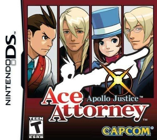 Apollo Justice: Ace Attorney [Nintendo DS DSi, Phoenix Wright, Puzzle Mystery] 1