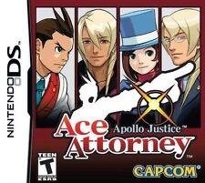 Apollo Justice: Ace Attorney [Nintendo DS DSi, Phoenix Wright, Puzzle Mystery]