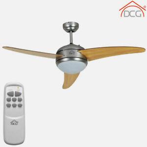 Ventilatore a soffitto da parete telecomando luce lampada Dcg VECRD60TL - Rotex