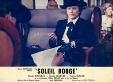ALAIN DELON SOLEIL ROUGE 1971 VINTAGE PHOTO ORIGINAL #5
