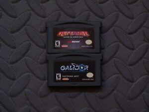 Lot Nintendo Game Boy Advance GBA Games Defender + Galidor: Defenders