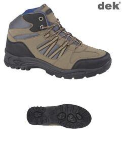 Mens-Trek-Walking-Hiking-Boots-Trainers-Trail-Shoes-Brown-Dek-Keswick-Size-7-12
